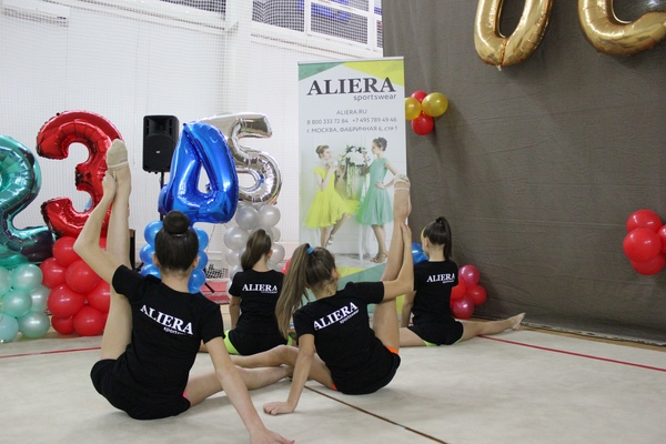 Фестиваль художественной гимнастики в г. Пересвет Осенний вальс