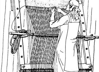 Зарождение ткачества