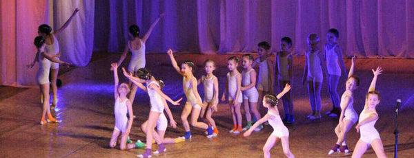 Гимнастический купальник для девочки для выступлений