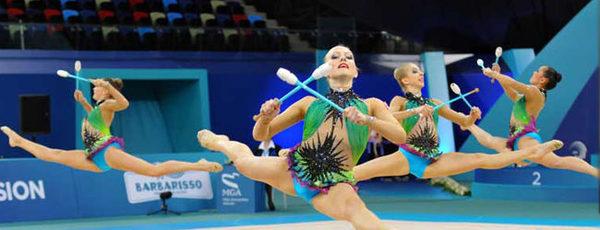 Булава гимнастическая для маховых движений