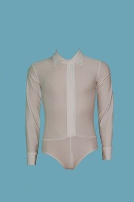 Р 1.04 Рубашка-боди для мальчиков (фото, Белый)