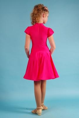 Р 4.2 Платье спортивное для девочек (фото, Красный)