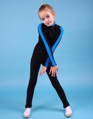 ФКБ 2.2 Комбинезон детский черный (фото, Голубой)