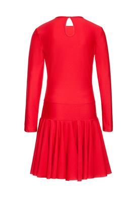 Р 2.4 Платье спортивное для девочек (фото, Красный)