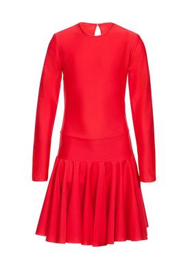 Р 2.4 Платье спортивное для девочек (фото, Синий)