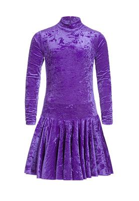 Р 2.8 Платье спортивное для девочек (фото, Фиолетовый)