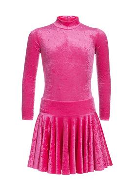 Р 2.8 Платье спортивное для девочек (фото, Розовый)