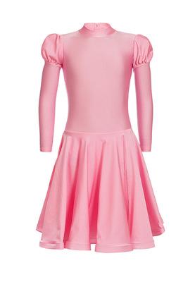 Р 4.1 Платье спортивное для девочек (фото, Розовый)