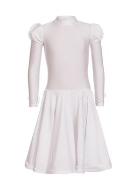 Р 4.1 Платье спортивное для девочек (фото, Белый)
