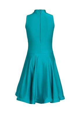 Р 4.3 Платье спортивное для девочек (фото, Бирюзовый)