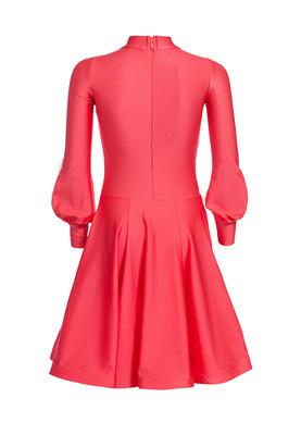 Р 4.4 Платье рейтинговое для танцев (фото, Красный)