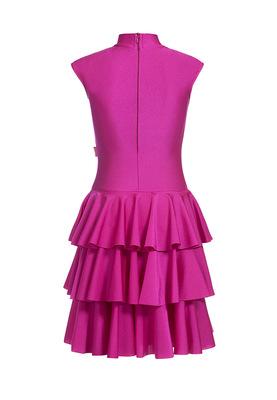 Р 4.5 Платье спортивное для девочек (фото, Фиолетовый)