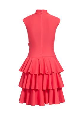 Р 4.5 Платье спортивное для девочек (фото, Красный)