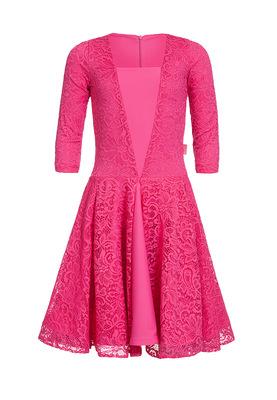 Р 7.1 Платье спортивное для девочек (фото, Малиновый)