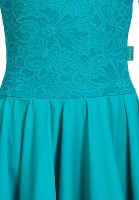 Р 7.4 Платье спортивное для девочек (фото, Бирюзовый)