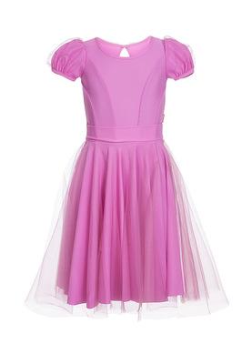 Р 8.2 Платье спортивное для девочек (фото, Сиреневый)