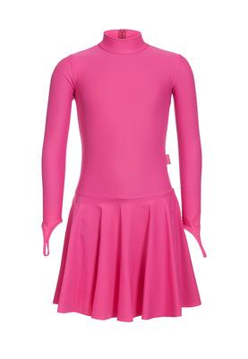 Р 2.71 Платье спортивное для девочек (фото, Малиновый)