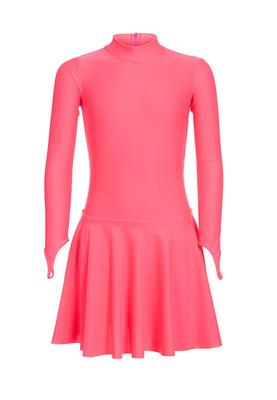 Р 2.71 Платье спортивное для девочек (фото, Розовый)