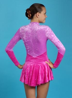 Р 2.1 Платье спортивное для девочек (фото, вид 1)