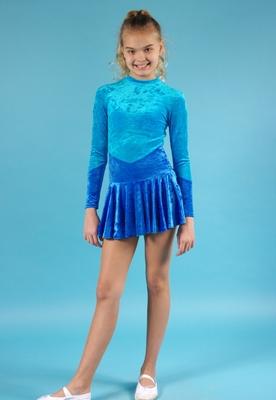 Р 2.1 Платье спортивное для девочек (фото, вид 3)