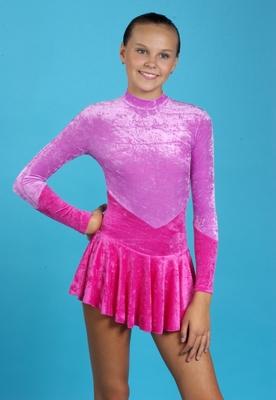 Р 2.1 Платье спортивное для девочек (фото, вид 2)