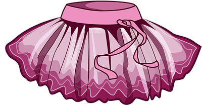 ЮП 1.01 Юбка гимнастическая (фото, Розовый)