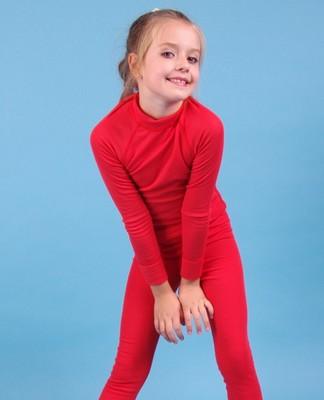 ТФд Футболка для девочек (фото, Красный)