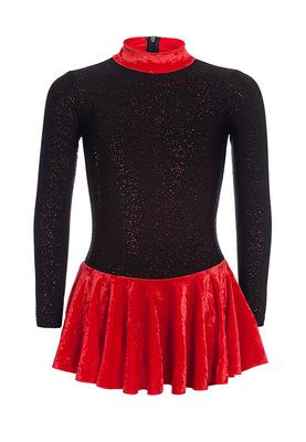 ФП 2.2 Платье спортивное для девочек (фото, Красный)