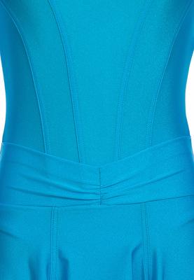 Р 4.8 Платье спортивное для девочек (фото, Голубой)