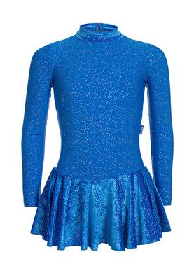 ФП 2.1 Платье спортивное для девочек (фото, Голубой)