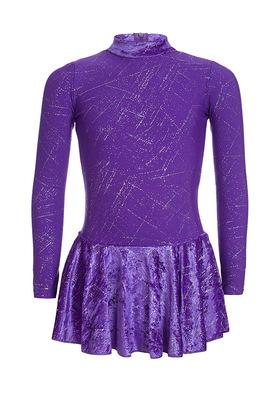 ФП 2.1 Платье спортивное для девочек (фото, Фиолетовый)