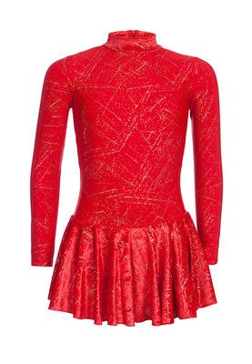 ФП 2.1 Платье спортивное для девочек (фото, Красный)