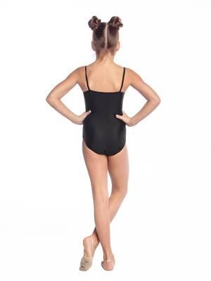 Г 4.01 Купальник гимнастический для девочек (фото, Черный)
