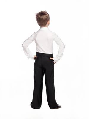Б 4.1 Брюки гимнастические детские (фото, Черный)