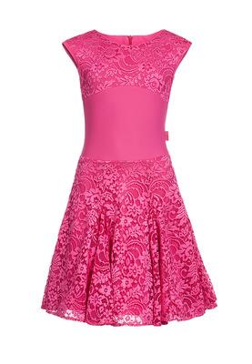 Р 7.5 Платье спортивное для девочек (фото, Малиновый)