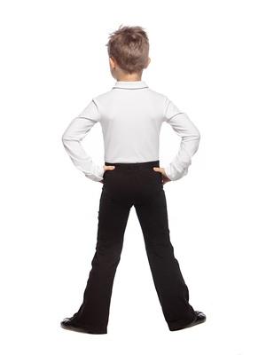 Р 1.03 Рубашка-боди для мальчиков (фото, Белый)