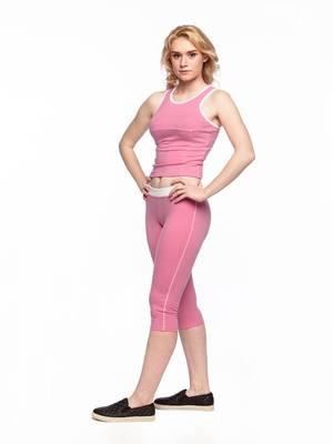Б 5.3 Бриджи для девочек (фото, Розовый)