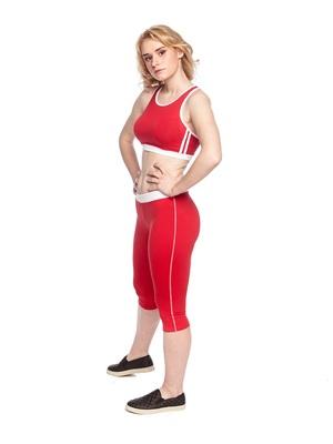 Т 5.3 Топ для девочек (фото, Красный)