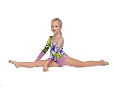 Г 19.1 Купальник гимнастический для девочек (фото, Вариант№2)