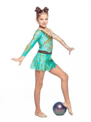 Г 5.5 Купальник гимнастический для девочек (фото, Вариант№2)