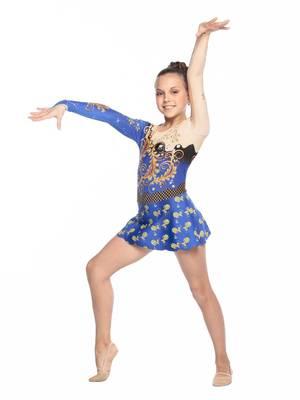Г 5.5 Купальник гимнастический для девочек (фото, Вариант№1)