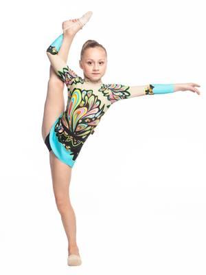 Г 5.4 Купальник гимнастический для девочек (фото, Вариант№1)