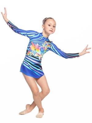 Г 5.4 Купальник гимнастический для девочек (фото, Вариант№2)