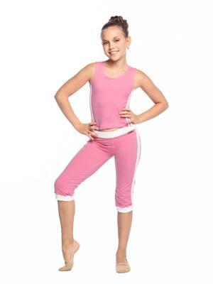 Б 8.3 Бриджи для девочек (фото, Розовый)