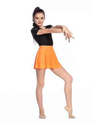 Ю 1.01 Юбка гимнастическая (фото, Оранжевый)
