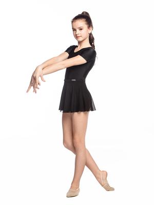 Ю 1.04 Юбка гимнастическая для девочек (фото, Белый)