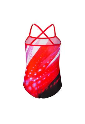 К 4.7 Купальник цельнокроеный для девочек (фото, Красный)