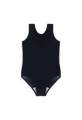 Г 1.03 Купальник гимнастический для девочек (фото, Черный)