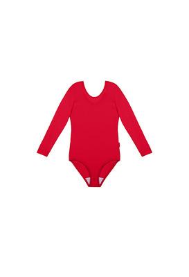 Г 2.03 Купальник гимнастический для девочек (фото, Красный)