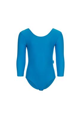 Г 2.01 Купальник гимнастический для девочек (фото, Голубой)